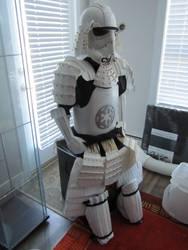 Stormtrooper Samurai Armor by Andihandro