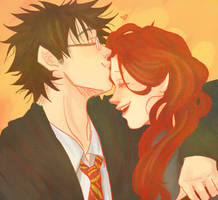 James and Lily by DramaQueen14