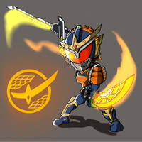 Kamen Rider Gaim by ArkAges