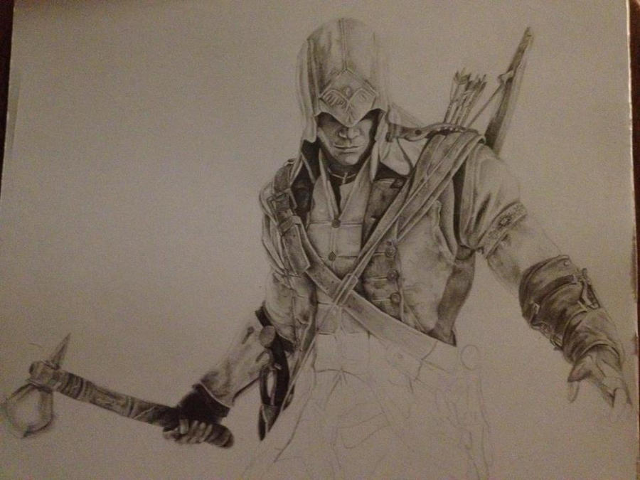 Assassins creed 3 Conner by Nero-DLS