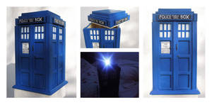 Tardis Cookie Box