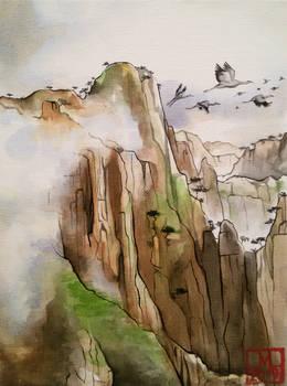 The peaks of Huangshan