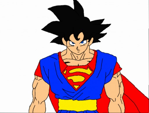 Goku Fused with Superman by PokemonTrainerCloud on DeviantArt