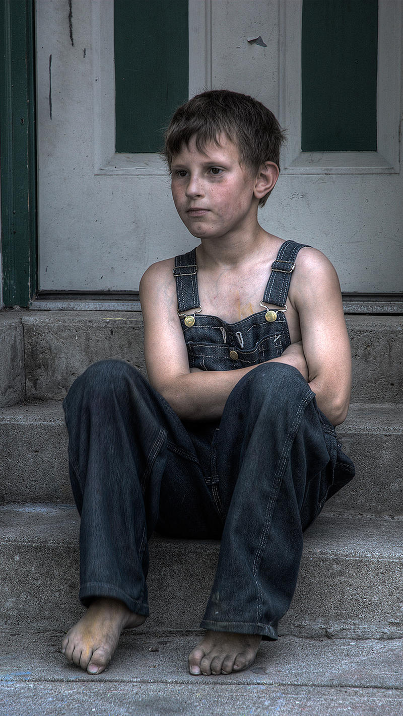 boy in overalls porn