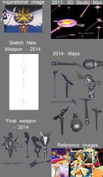 Weapons by miakayuki1