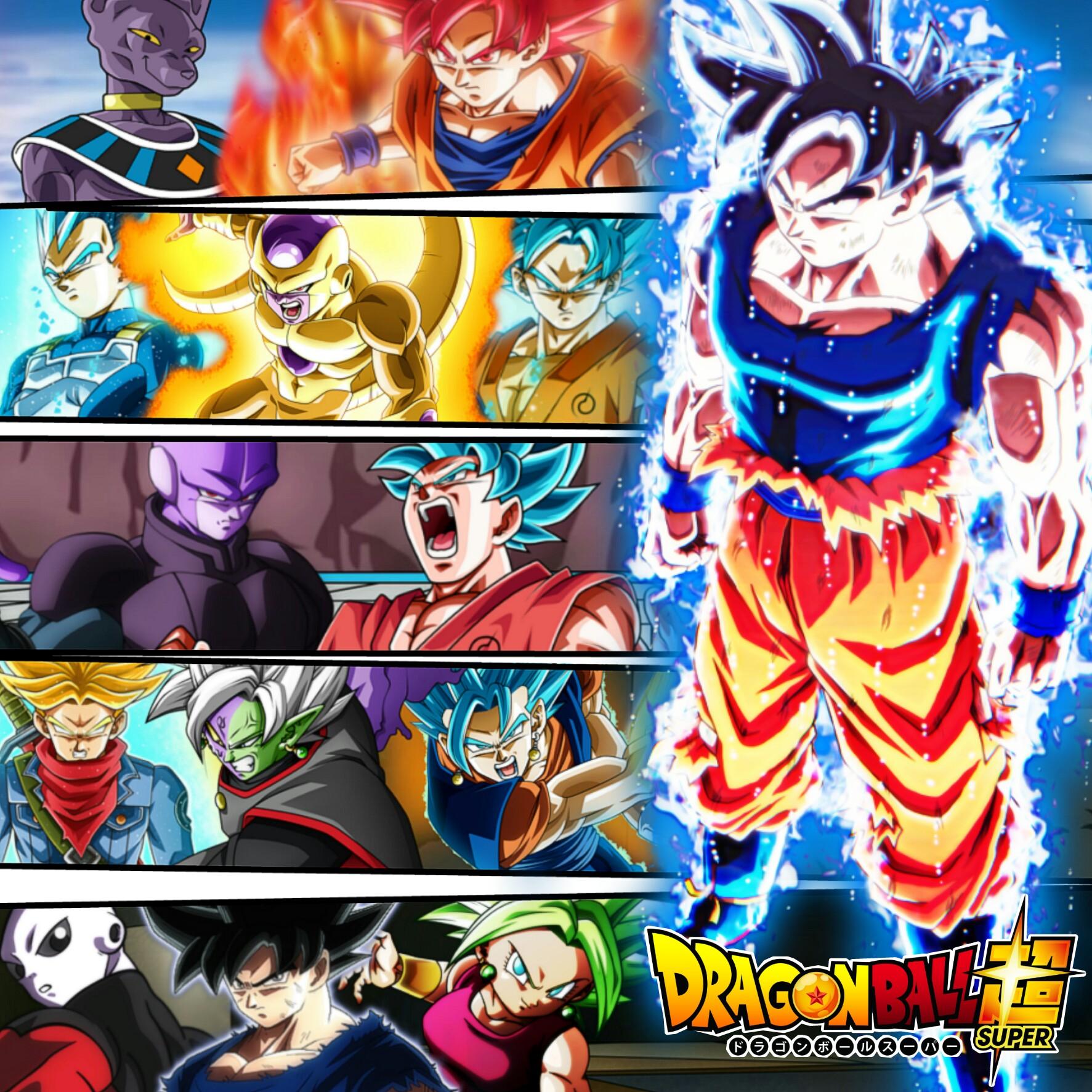 Dragon Ball Manga Tournament Of Power: Poster Dragon Ball Super. By ImedJimmy On DeviantArt