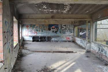 Urbex Train Depot by Blackandwhite76
