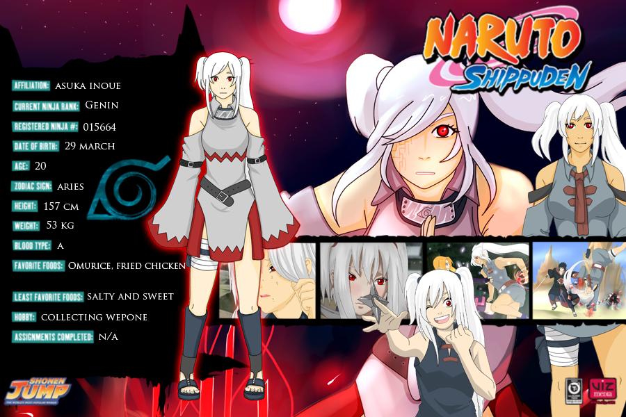 Asuka Inoue Naruto Oc By Affiqahchan