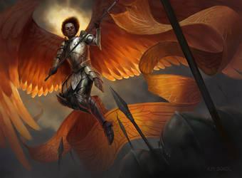 Inspiring Angel by kimsokol