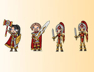 Champions of Avlion - Human Paladins and Soldiers