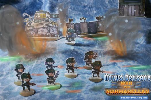 Novus Crusade - Guardian Corps Attack!