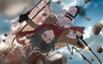 Mikasa de Shingeki no Kyojin