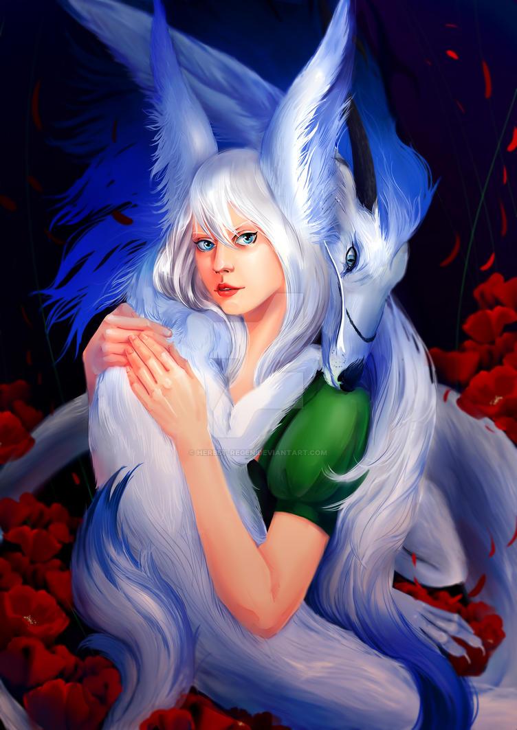 White Dragon by Herbst-Regen
