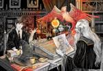 Hogwarts. Alternative history.
