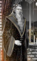 Hogwarts. Alternative history/ Dumbledore