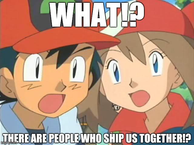 Pokemon episode 357 ash and may kiss