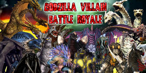 Godzilla Villain Battle Royale