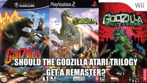 Godzilla Atari Trilogy Remaster
