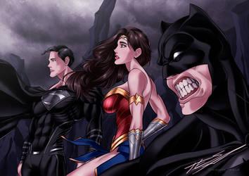 Justice League FanArt by MIGHTY-TESLA