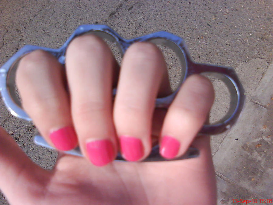 Pink Nails by AnyRainbow