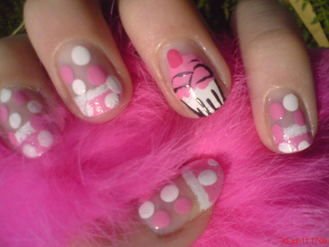 cupcake nail designs ideas-8