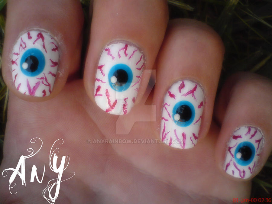 Eye Nail Design Gallery - nail art and nail design