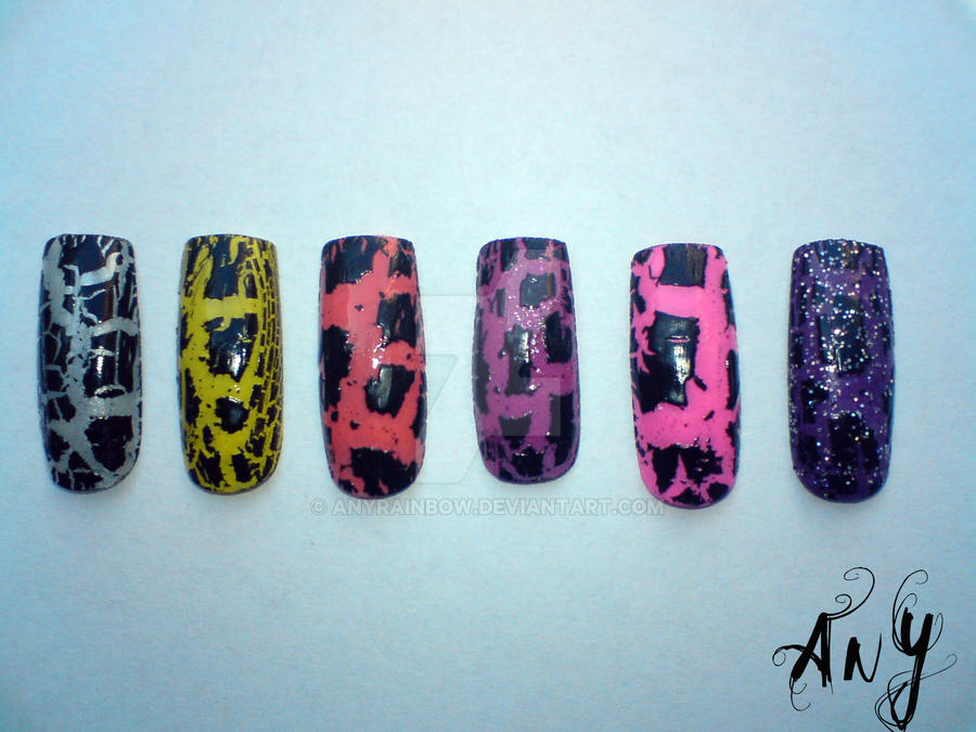 Crackle Nail Polish by AnyRainbow