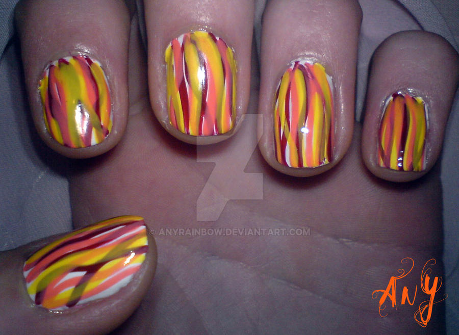 Random Nail Design by AnyRainbow