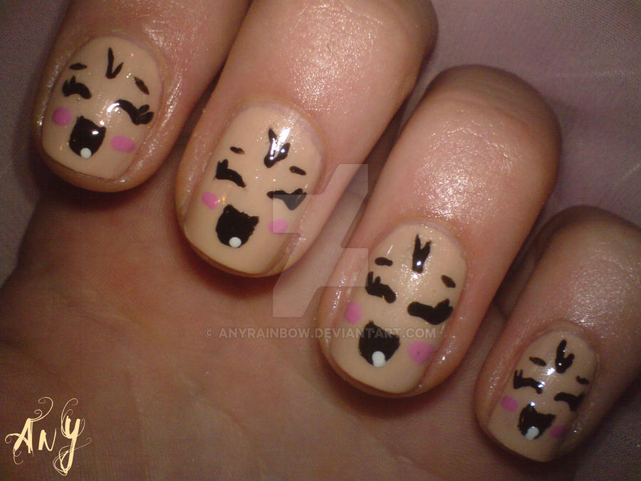 Baby Nail Design by AnyRainbow ... - Baby Nail Design By AnyRainbow On DeviantArt