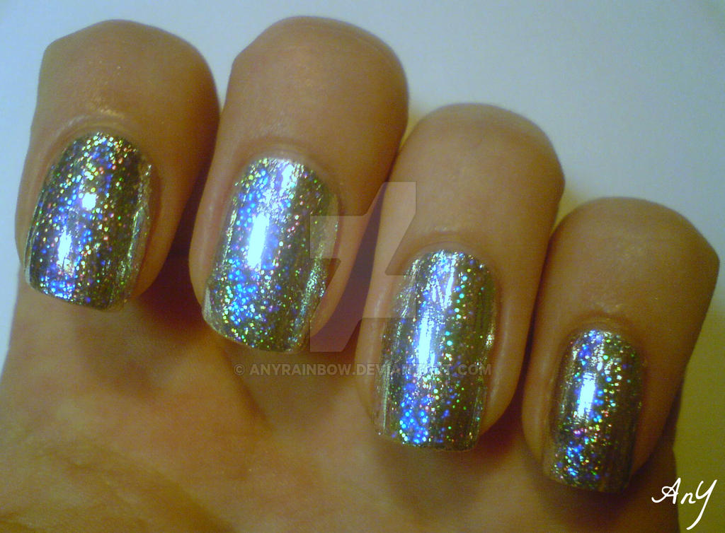 Nail Foil Design by AnyRainbow