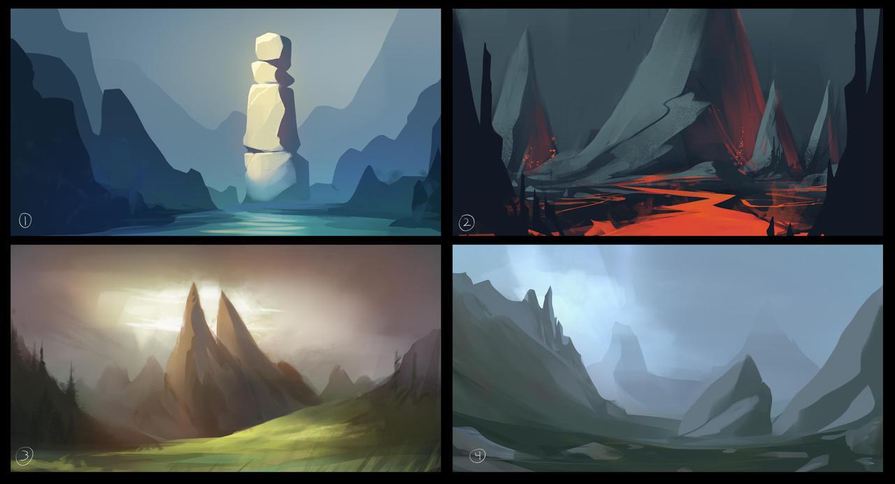 Landscapes: Mountains