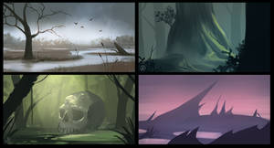 Landscapes: Swamps