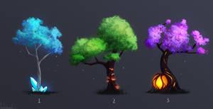 Fantasy Magic Trees