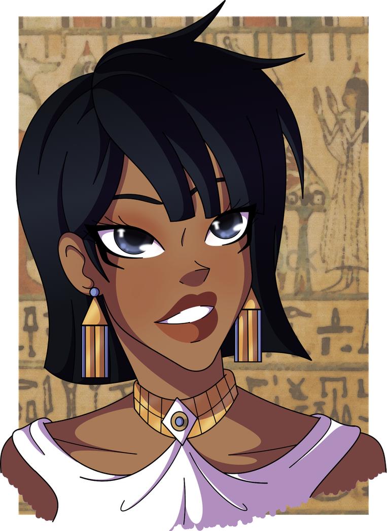 Nephthys - Goddess of Night by Cazuuki on DeviantArt