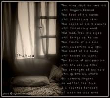 Haunted Visual Poem by meljoy68