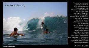 Surfer Insanity Visual Poem by meljoy68