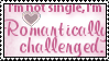 romantically challenged stamp by meljoy68