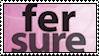 fer sure stamp by meljoy68