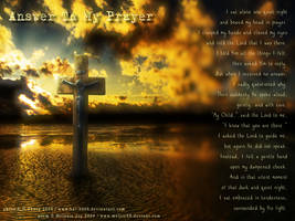 Answer To My Prayer by meljoy68