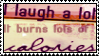 laugh a lot stamp by meljoy68