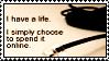 life online stamp by meljoy68