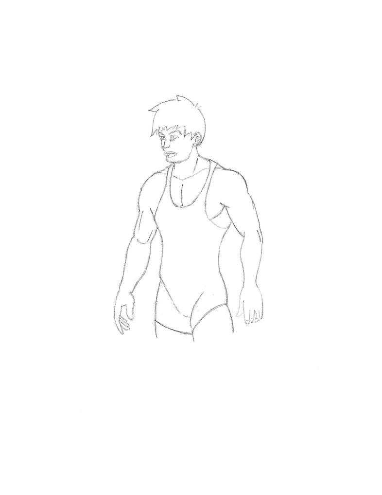 OC: Wrestler by Gemrix