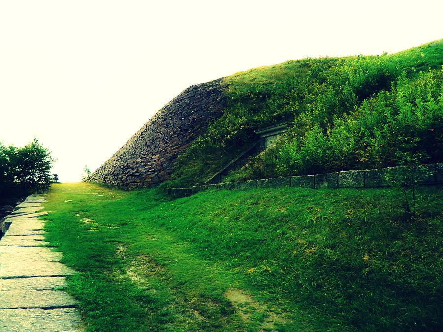 Melancholy Hill by italian-artist