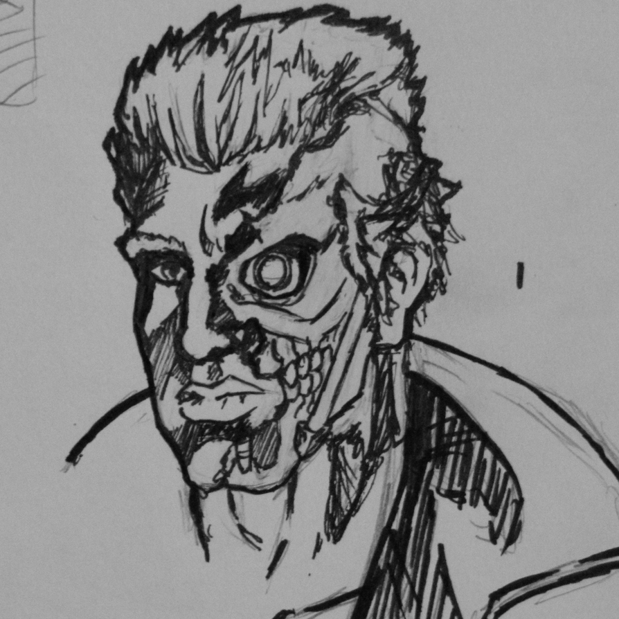 Work Doodles #1: The Terminator by italian-artist