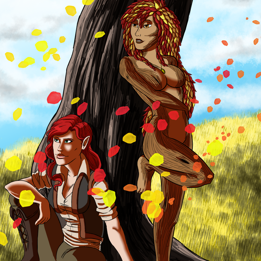 Rhiane and Hazel: CE by italian-artist