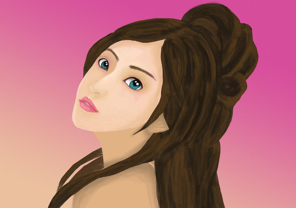 Girl by enchantedbluedragon