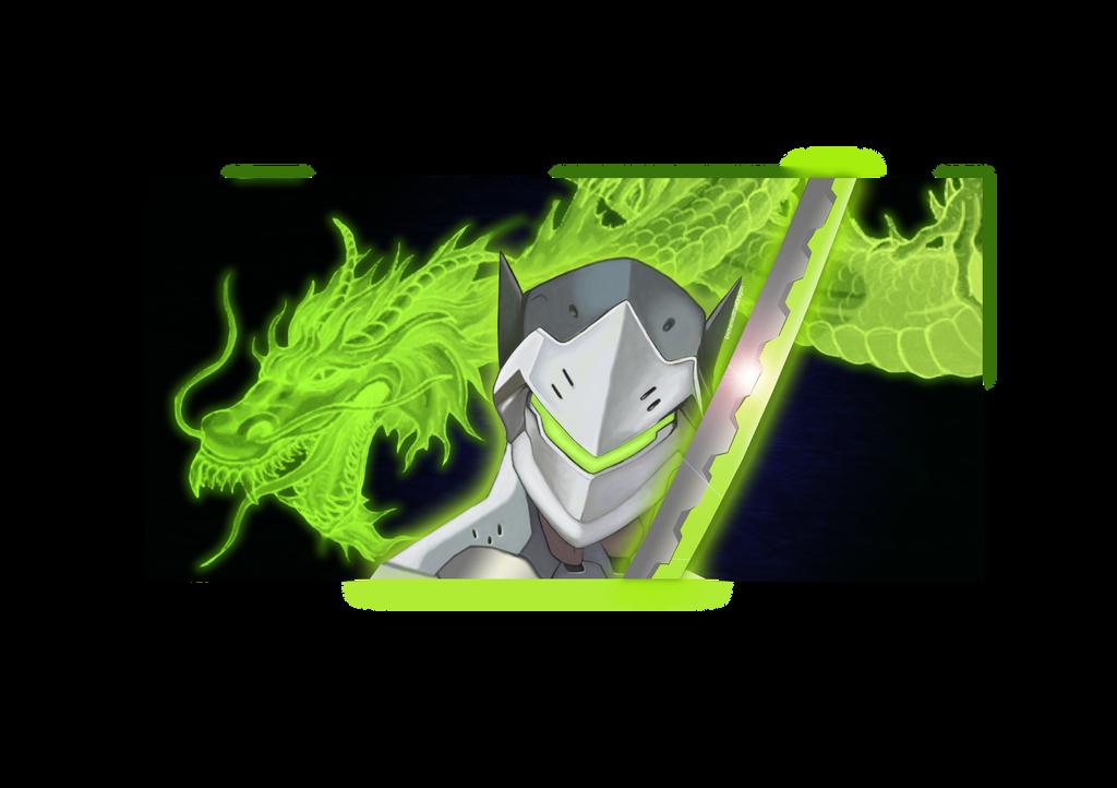 Genji Overwatch by enchantedbluedragon by enchantedbluedragon