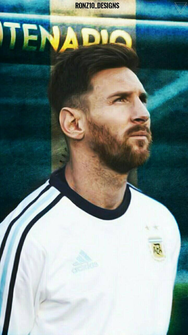 Messi Mobile Wallpaper By Ronz10