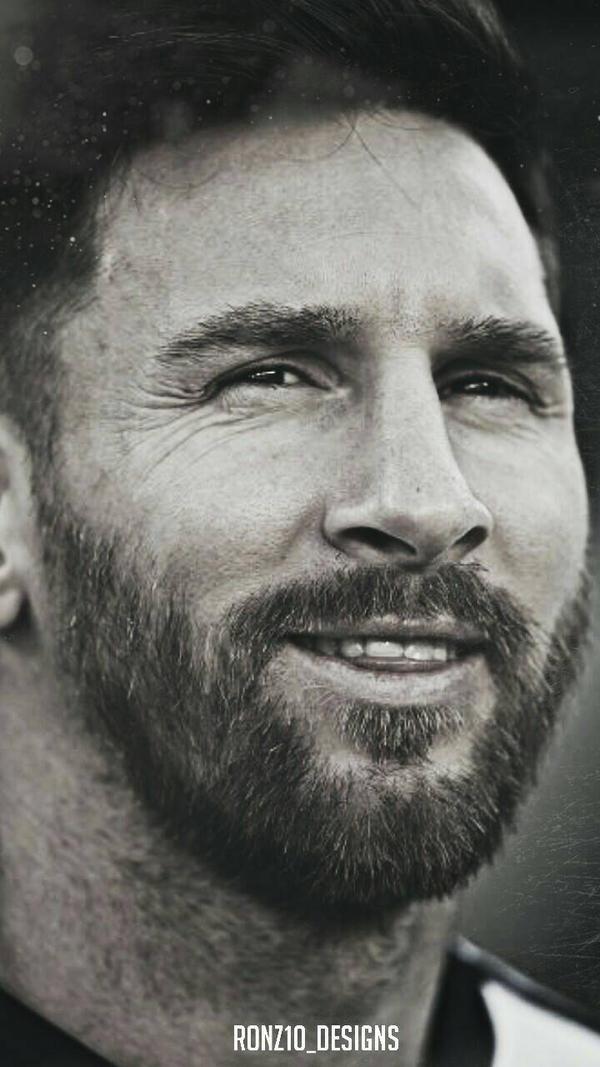 Messi With Beard