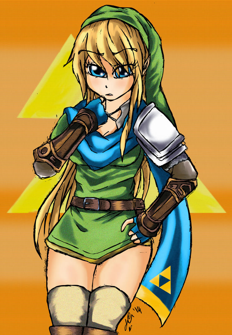 My name is Link, guys... by Manhunterj